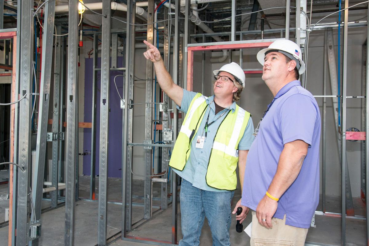 Construction inspectors